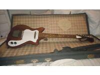 Rare 1960s Broadway Plectric guitar in original case
