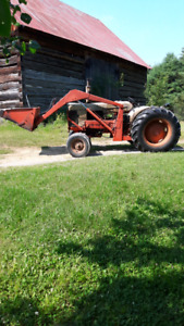 Late 1950s Case 530 tractor with loader