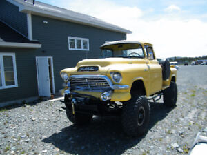 """1957 GMC 4x4 Lifted on 38"""" tires"""