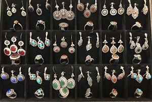 925 Sterling silver jwellery sets (pendant, earring & ring)