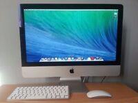 "3.06Ghz 21.5"" Apple iMac 4gb Ram 500Gb HDD Logic Pro X Pro Tools 10 FL Studio 11 Reason Cubase Avid"