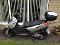 Piaggio X7 250cc scooter for sale. Very low mileage