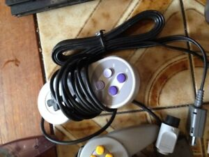 controllers , video games - saga power cord box ,n64