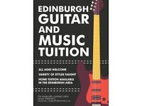 Private Guitar Lessons Available in Edinburgh and the Surrounding Areas