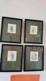 Beatrix potter Mr McGregor framed prints