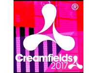 Creamfields Standard 3 Day Camping Ticket