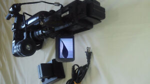 JVC GY-HD100U 3-CCD Camcorder with 16x ProHD Fujinon Lens