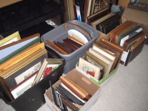 lots of pictures in frames - great for photo wall / projects!