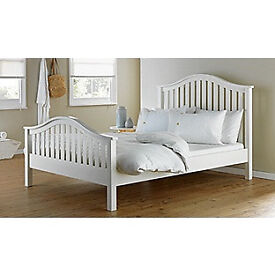 Newbridge Kingsize Bed Frame - White