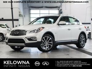 2017 Infiniti QX50 All-wheel Drive with Premium, Navigation and