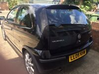 2005 VAUXHALL CORSA 1.4 EXCLUSIVE SPORTS 3 DOOR BLACK HATCHBACK QUICKSALE