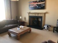 Large double room in this amazing New Town West End apartment