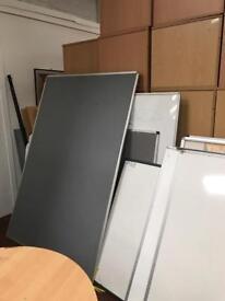Large Grey Noticeboard