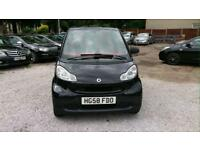 Smart Fortwo 1.0 Passion 2dr Black & Red