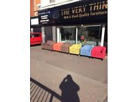 Beautiful brand new tub chairs in a variety of colours £109each! delivred free within belfast