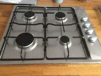 HOB (600) EXTRACTOR AND FAN (900 WIDE) STAINLESS STEEL IN GREAT WORKING ORDER
