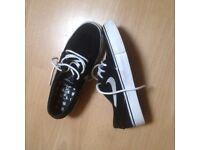 Womens Black & White Nike Janoski Zoom Air UK 3.5 EU 36