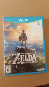 Zelda: Breath of the Wild - Wii U