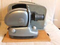 Vintage Retro Noris Trumpf Slide Projector with original case.