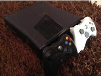 Xbox 360 (Black) With 8 Games, Kinect & Thrustmaster Ferrari Steering Wheel