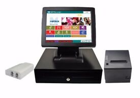 Brand New All in One Takeaway Till system Retail Epos Touchscreen Pos system