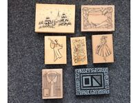 43 Rubber Stamps