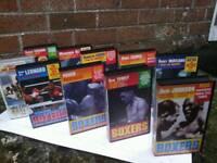 VHS Boxer videos