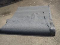 unused still new carpet with hard plastic underneath used for cars or pets Protection