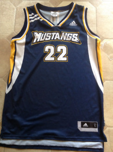 Brand new never worn or washed Adidas Mustangs Jersey!