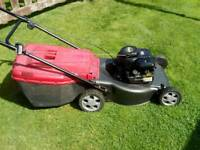 Petrol lawnmower push type