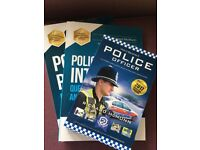 Police Officer Recruitment Process Books