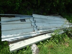 galvanized sheeting and newer steel