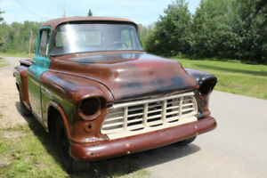 1955 Chevrolet Truck, patina ride!