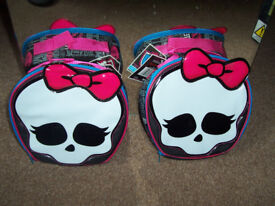 Skull and Bow Lunch Boxes X 2