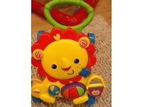 Fisher Price - Lion baby walker