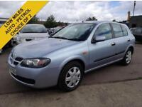 2005 NISSAN ALMERA AUTOMATIC 1.8 SE LOW MILES FULL SERVICE HSITORY