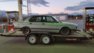 1984 BMW e28 520i euro spec imported from germany