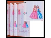 Brand new Disney princess voile net curtain x3