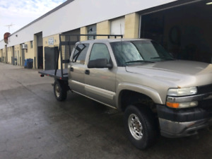 2001 Chevy 2500hd 4x4 with Plow 8000
