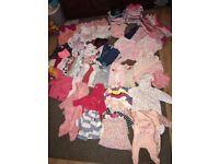 Baby girl clothes 0-3 3-6