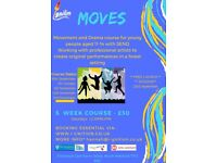 Outdoor Movement and Drama course for young people with SEND aged 11-14