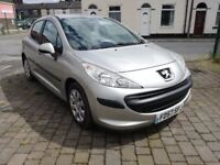 2007 Peugeot 207 1.4 HDi S 5dr Hatchback, Warranty & Breakdown Available, £1,695 p/x welcome