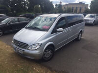 2009 Mercedes Benz 8 seater Viano (ex long) for sale, only 8000 pounds
