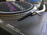 Technics SL-1210 MK2 Turntables with lid x 2 & 2 ortofon concorde pro s cart stylus£900