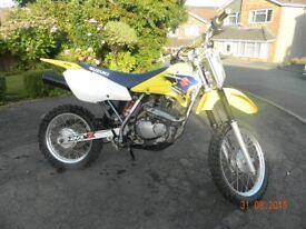 Suzuki DRZ 125 4 Stroke Small Wheel Youth Motorcycle / Motocross / Motorbike