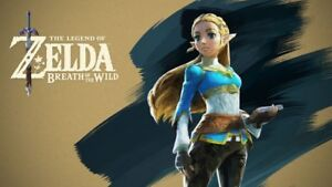 Wanted Zelda Breath of the Wild for Wii U