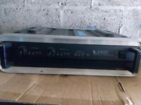 Inter M L2400 power amp
