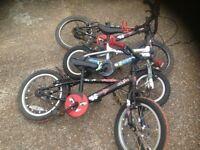 Child's Job lot Of Three Bicycle (Dawes ,Urchin )