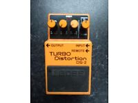 Boss DS-2 Turbo Distortion - Guitar Effect Pedal