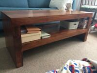 Mango wood coffee table - EXCELLENT CONDITION